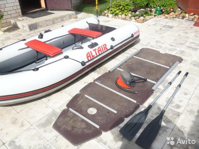 лодка альтаир сириус 335 видео