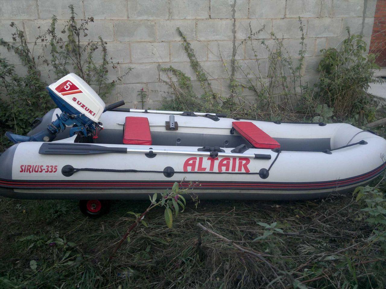 альтаир лодка пвх видео