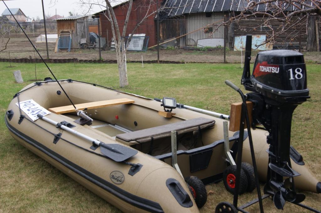 эхолот для моторной лодки купить