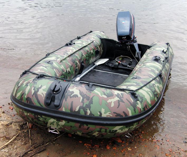 Мини лодка с мотором