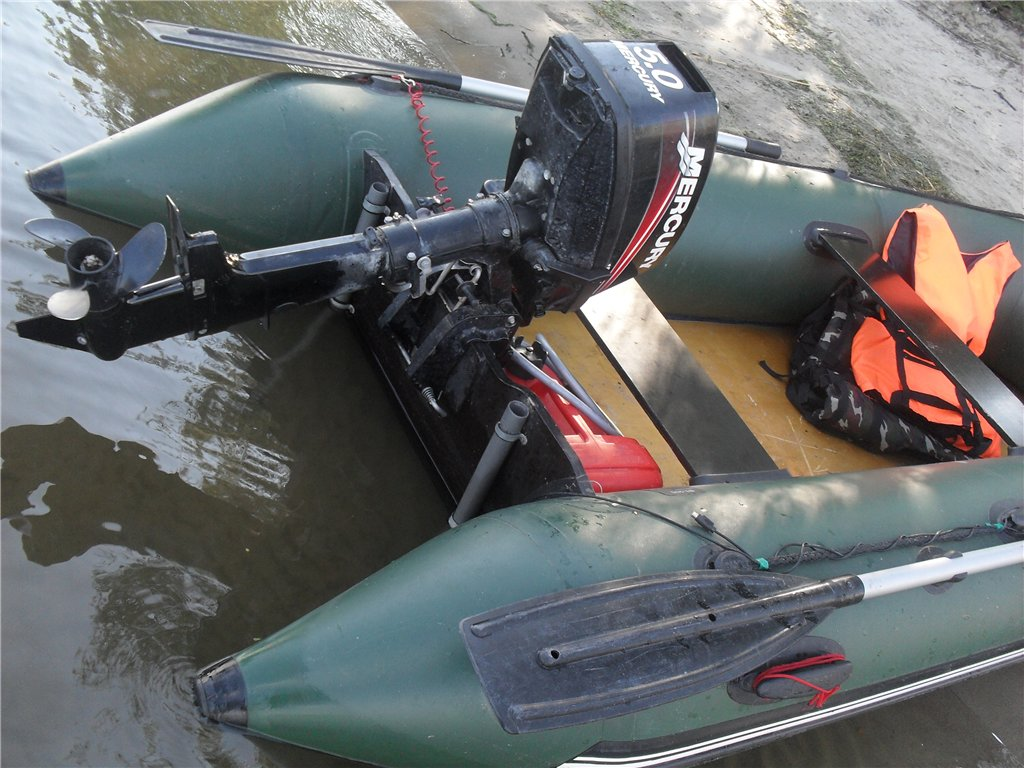 Какой мотор поставить на лодку пвх 260