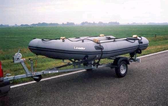 прицепы для лодки пвх 360 своими руками
