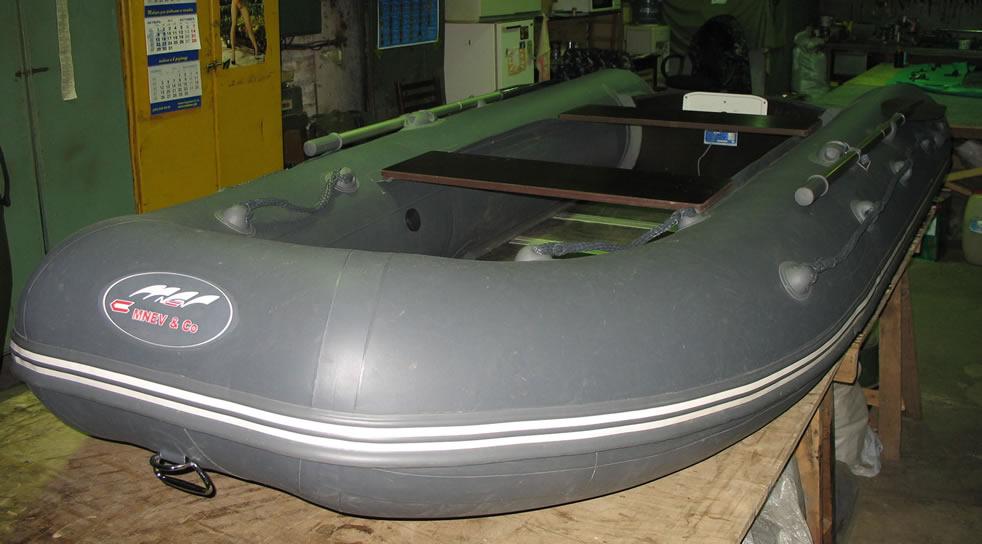 лодка кайман 330 с надувным дном