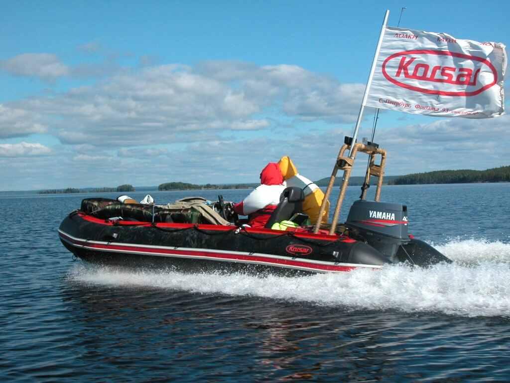 простейшая моторная лодка