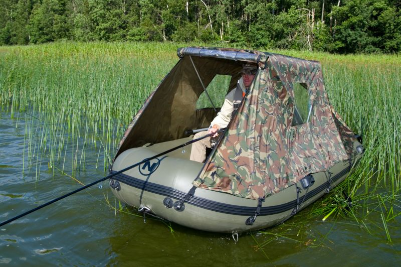 навес на надувную лодку своими руками