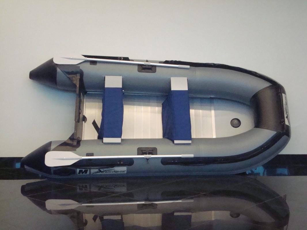 Носовой тент с окном на лодку НОРД-СИЛЬВЕР 390
