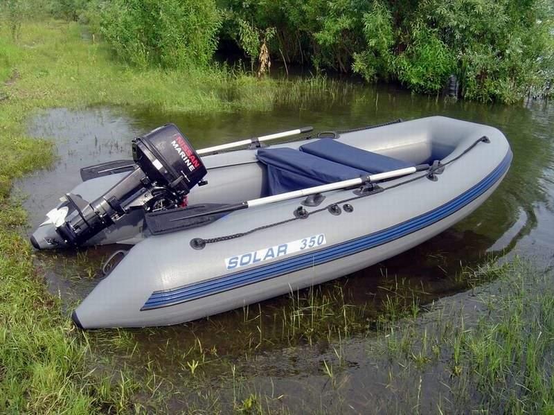 купить аксессуары для лодки пвх солар