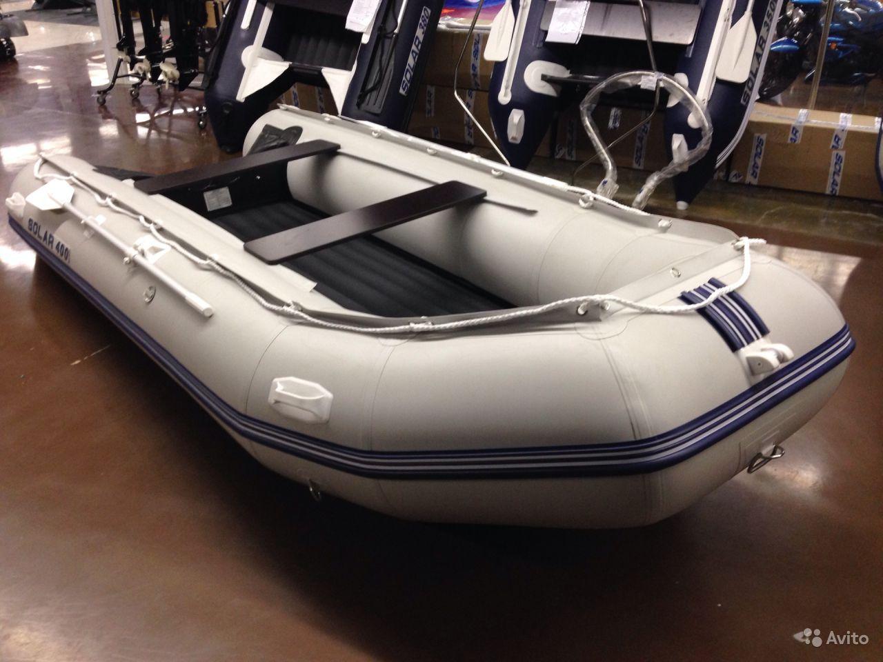 лодка пвх солар 400 цена