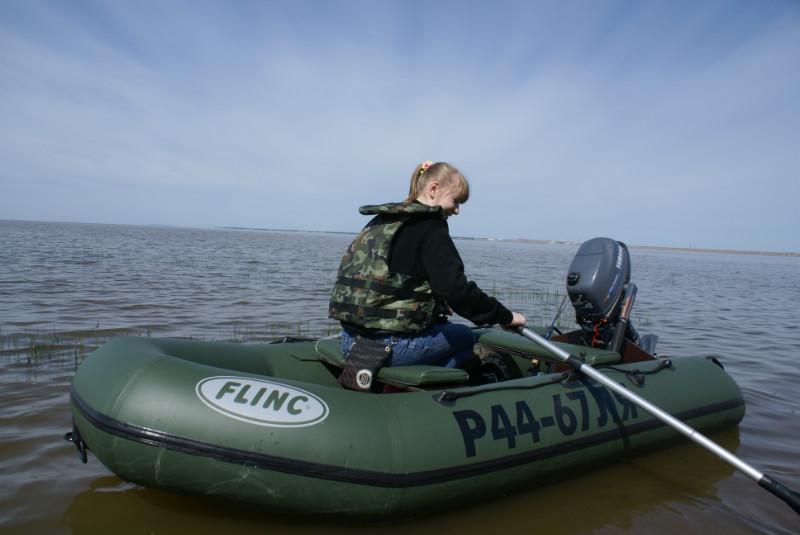 тюнинг лодки флинк 290 видео